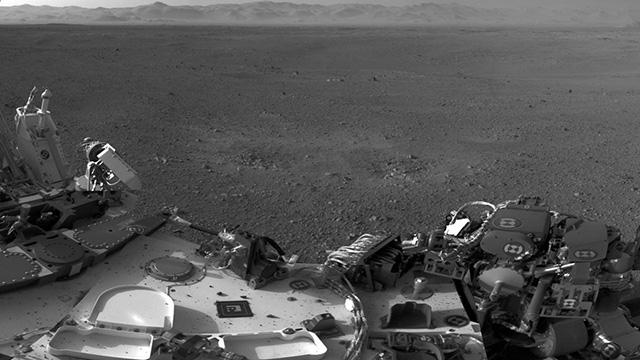 Fotos del Curiosity en Marte