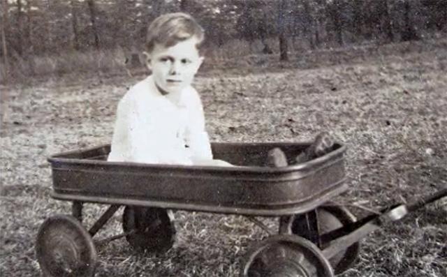 Donald Triplett de niño